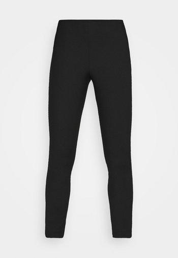 GRACE NARROW PANTS - Joggebukse - black