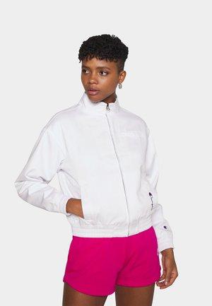 FULL ZIP - Training jacket - white