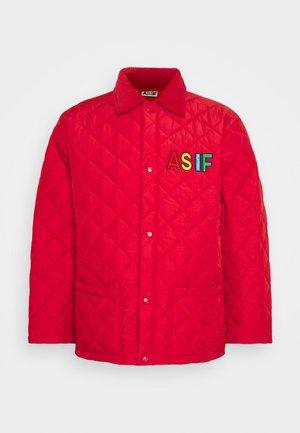 CHARLES JACKET UNISEX - Light jacket - red