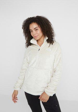 OSITO ZIP - Fleece jumper - vintage white