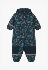 Lindex - TASLAN PADDED UNISEX - Snowsuit - dark blue - 0