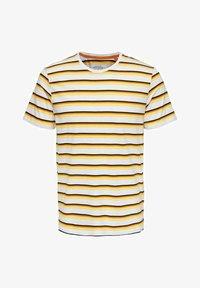 Only & Sons - Print T-shirt - pale banana - 5