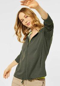 Cecil - Zip-up sweatshirt - olive - 0