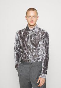 Martin Asbjørn - JOSHUA SHIRT - Shirt - silver grey - 6