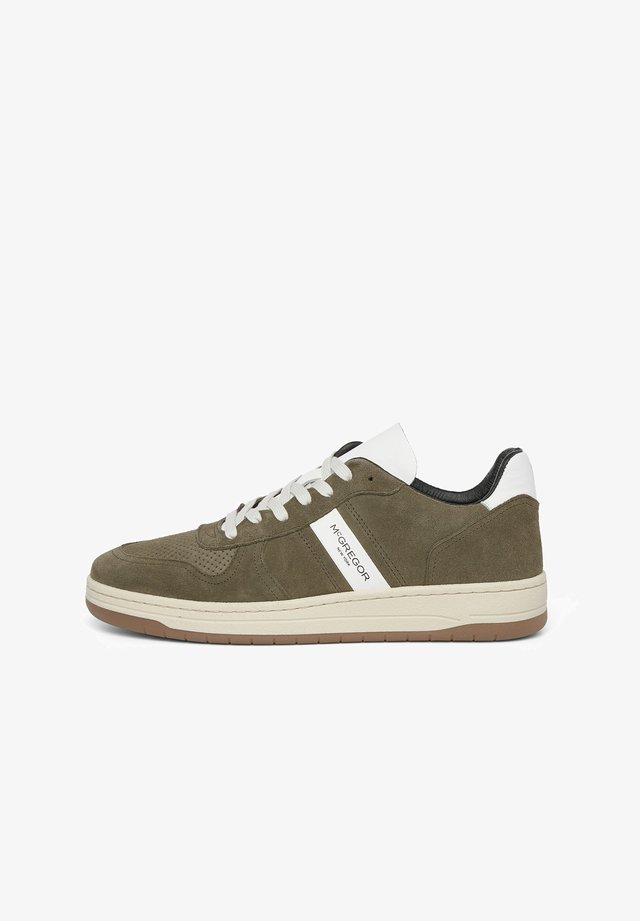 Sneakers laag - summer olive