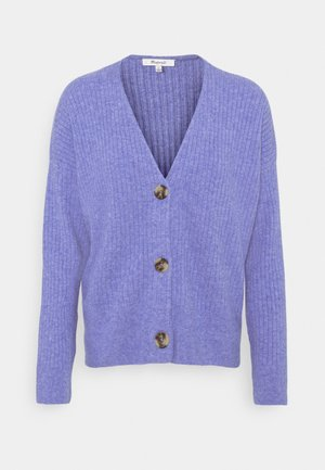 SECRET SANTA V NECK CARDIGAN - Cardigan - heather sky