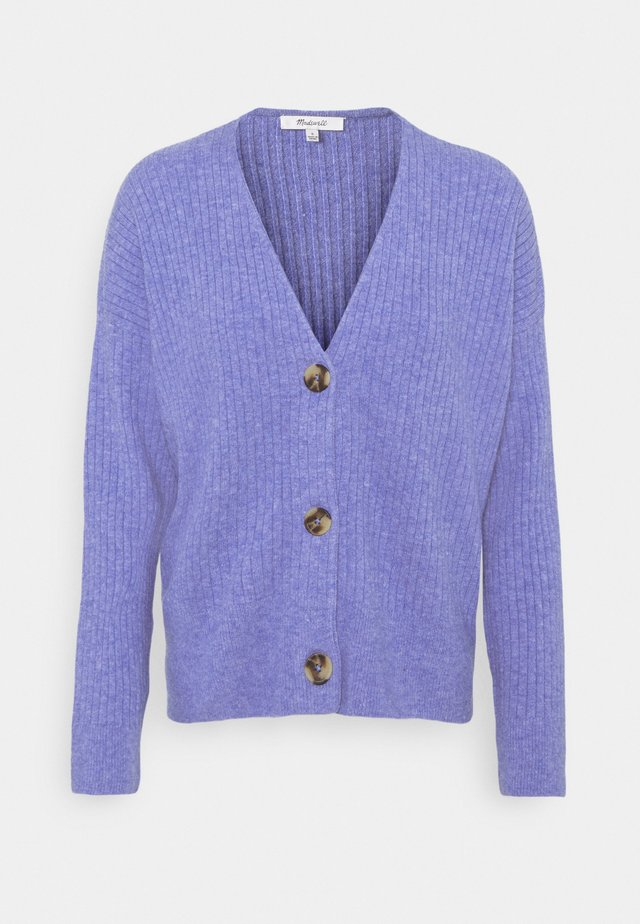SECRET SANTA V NECK CARDIGAN - Vest - heather sky