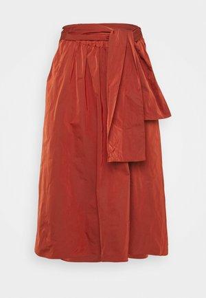 EROS - Áčková sukně - red