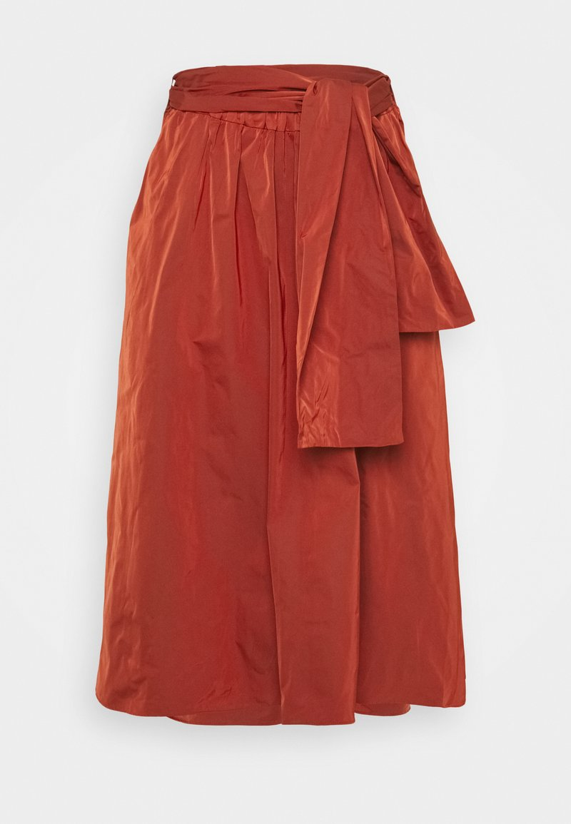 MAX&Co. - EROS - A-line skirt - red