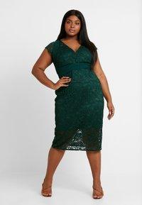 TFNC Curve - VERYAN DRESS - Cocktail dress / Party dress - jade green - 2