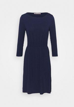 Mini waisted basic dress - Jerseykjole - dark blue