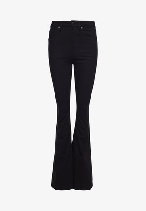 Flared Jeans - stay black