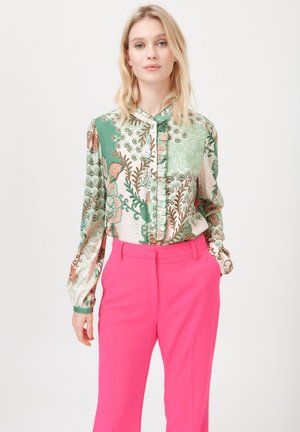 JODIE (V) - Button-down blouse - prairie green