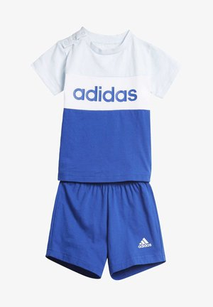 COLORBLOCK SET - Tracksuit - blue