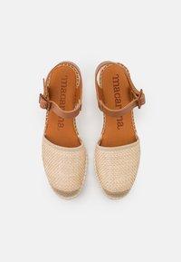 Macarena - JAVA  - Sandály na platformě - sumatra natural - 5