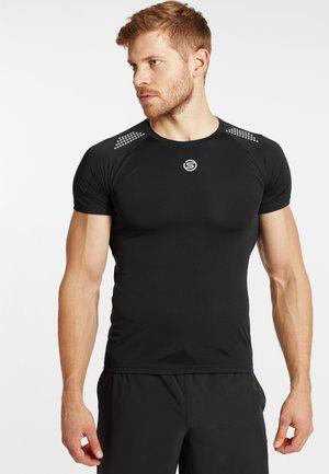 S3 SHORT SLEEVE  - Basic T-shirt - black
