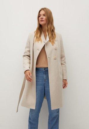 TIERRA - Classic coat - beige