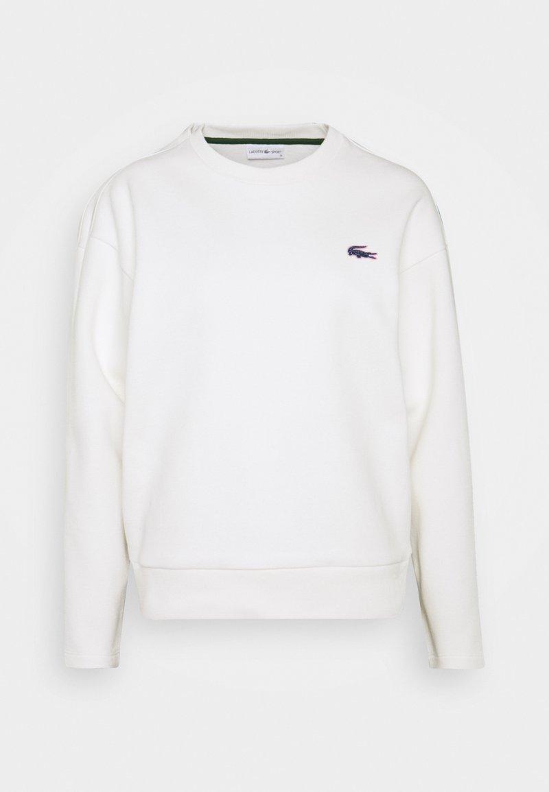 Lacoste - BIG CROC - Sweatshirt - farine