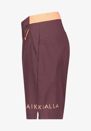 VALKOLA - Shorts - dunkelbraun