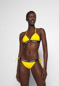 Tommy Hilfiger - CHEEKY SIDE TIE - Bikini bottoms - amber glow - 1