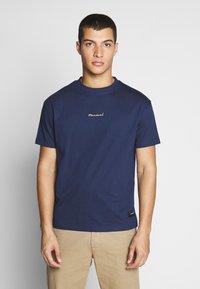 Nominal - REAL TEE - T-shirt - bas - navy - 2