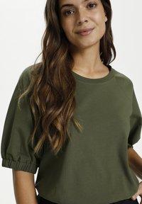 Kaffe - LINDA  - Basic T-shirt - grape leaf - 3