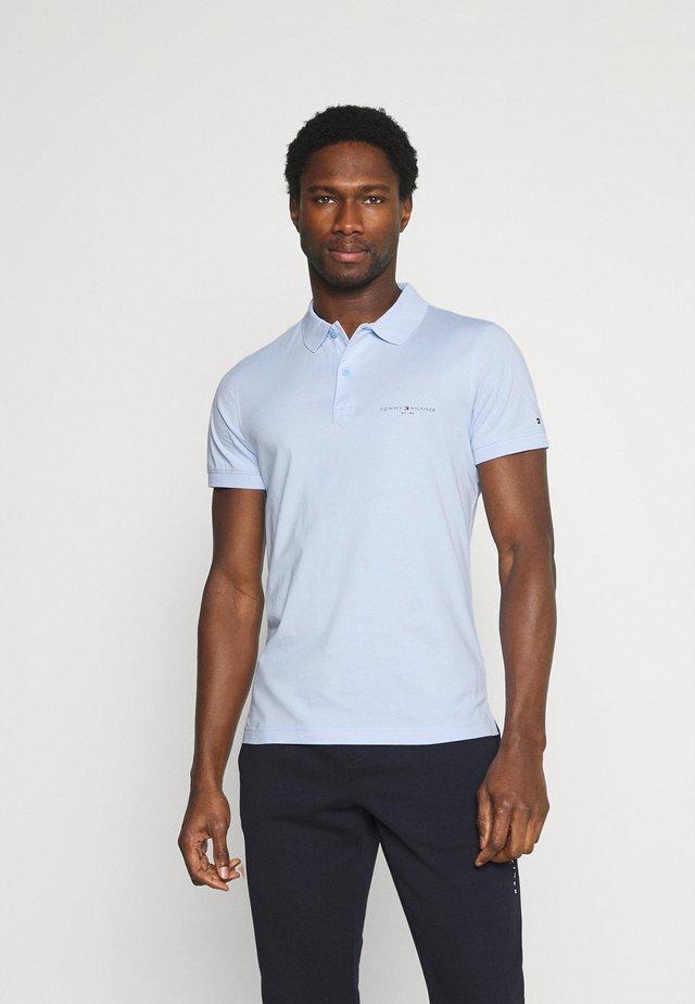 CLEAN SLIM - Polo - sweet blue