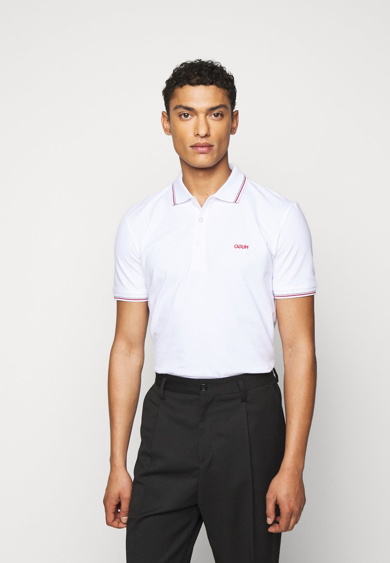 HUGO - DINOSO - Polo shirt - white