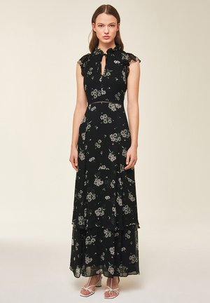 IVY & OAK - Vestido largo - black