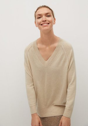 NANTES - Sweter - light/pastel grey