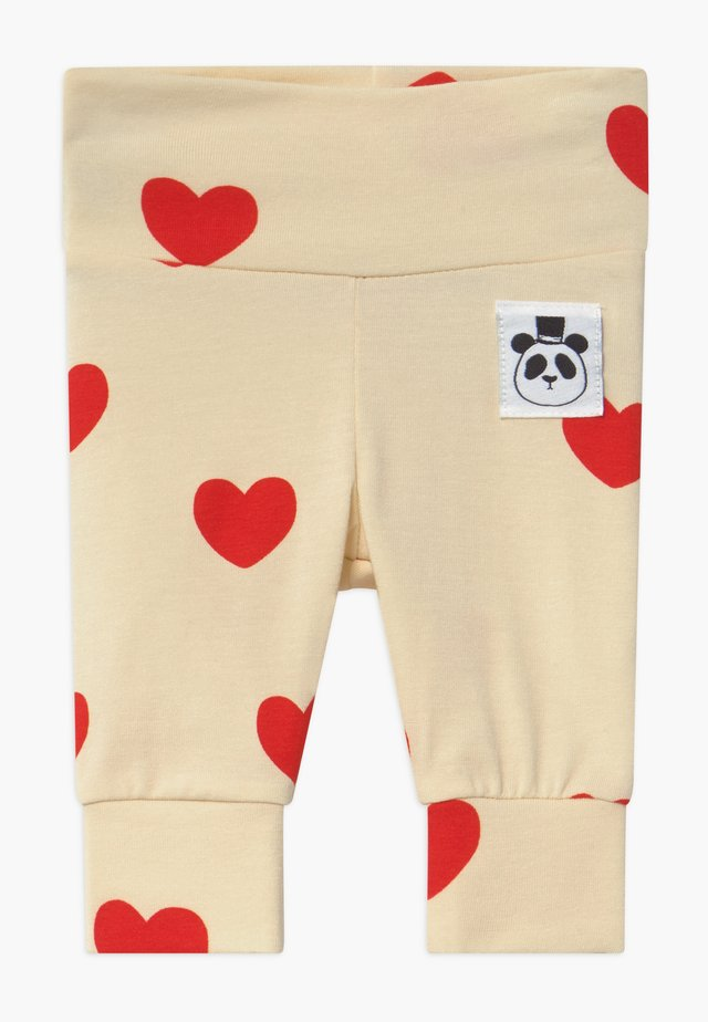 BABY HEARTS  - Leggings - Hosen - offwhite