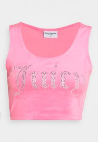 Juicy Couture - JADE CROP - Top - fluro pink - 4
