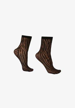 Socks - zebrato nero