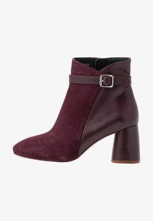Classic ankle boots - bordeaux