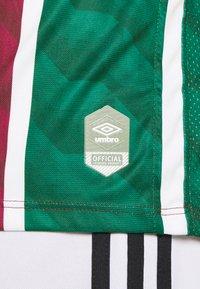 Umbro - FLUMINESE HOME  - Klubbkläder - wine/white/green - 5