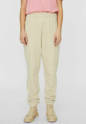 Tracksuit bottoms - oatmeal