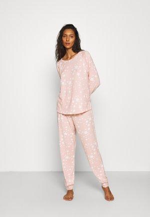 STARS SUPERSOFT TWOSIE SET - Pyjamas - blush