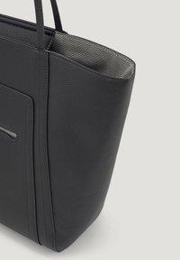 TOM TAILOR - MIT ANHÄNGER - Handbag - schwarz/black - 2