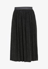 myMo at night - A-line skirt - schwarz silber - 4