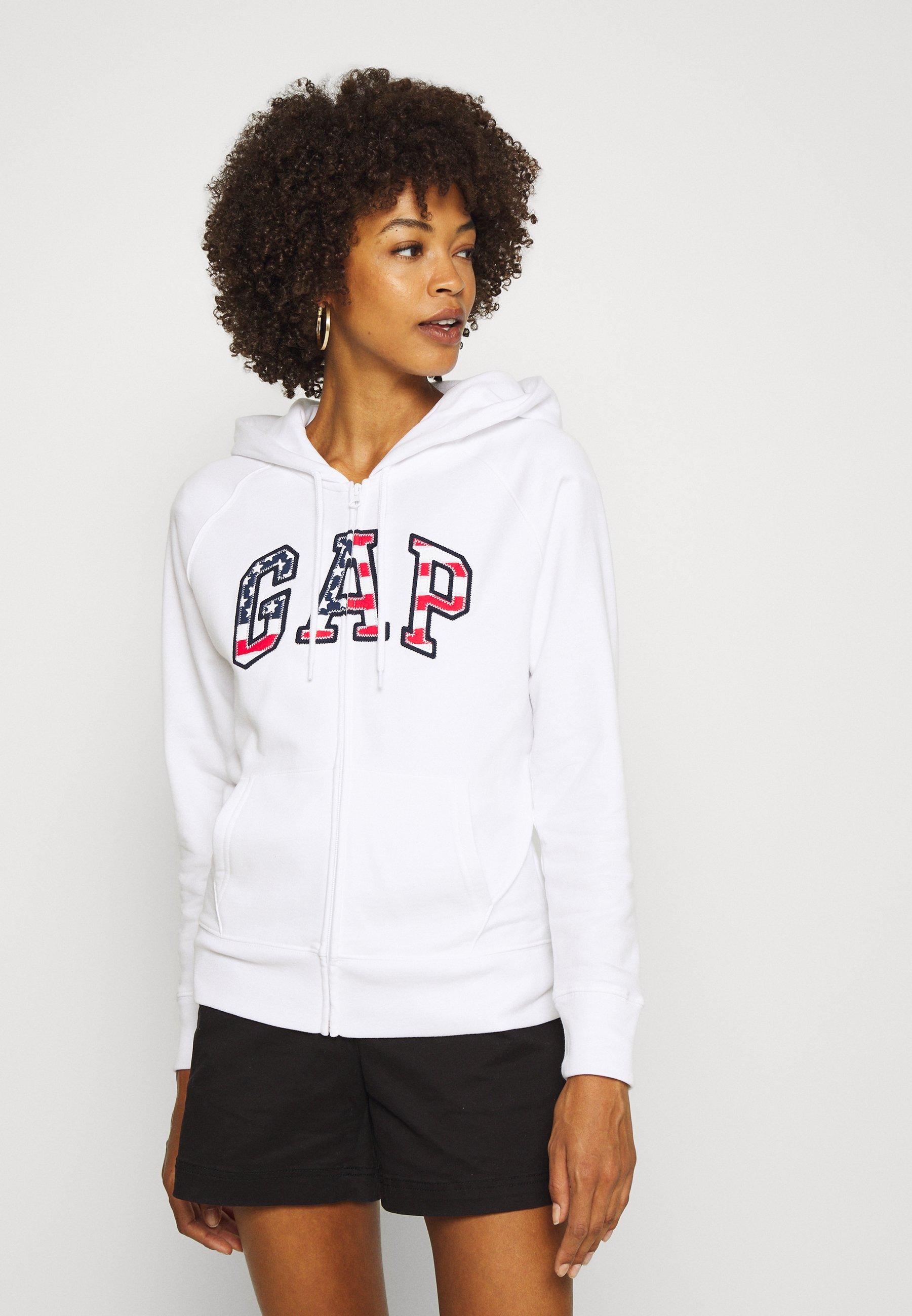 Women FLAG - Zip-up sweatshirt