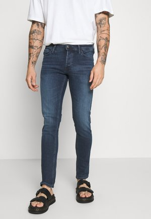 JJIGLENN JJORIGINAL - Džíny Slim Fit - blue denim