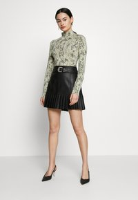 River Island - A-line skirt - black - 1