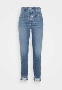 CLOSED - PEDAL PUSHER - Jean slim - mid blue - 6