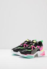 Puma - LQDCELL OPTIC PAX - Sports shoes - black/ultra gray - 2