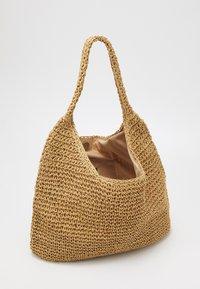 Pieces - PCLONGO BAG - Tote bag - nature - 2