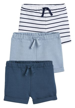 BLUE SHORTS THREE PACK (0MTHS-2YRS) - Kraťasy - blue
