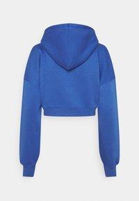 Missguided - SJXMG ZIP THROUGH CROP HOODY - Zip-up hoodie - blue - 1