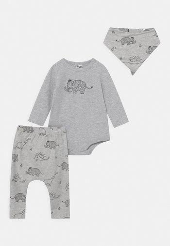 BUNDLE BIB SET  - Trousers - cloud/graphite