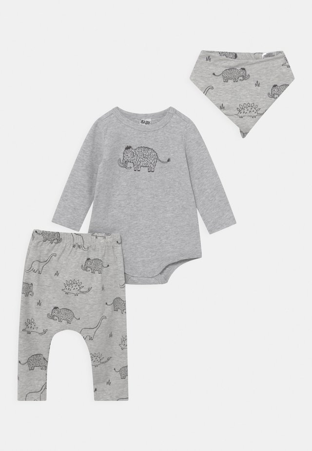 BUNDLE BIB SET  - Trousers - cloud/graphite