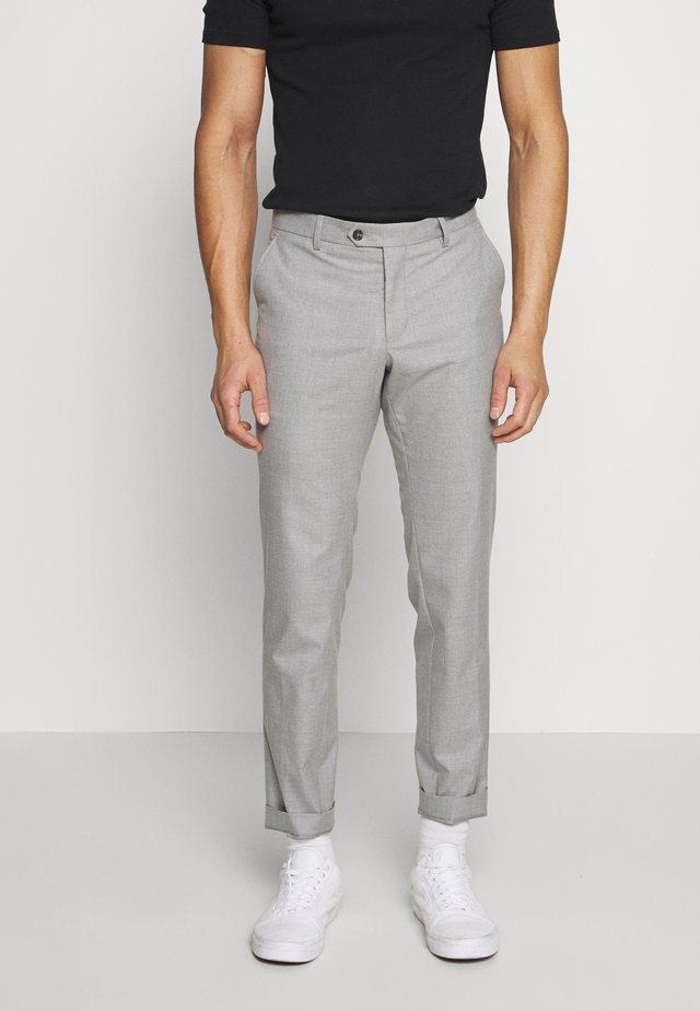 BLOCH TROUSER - Kangashousut - light grey